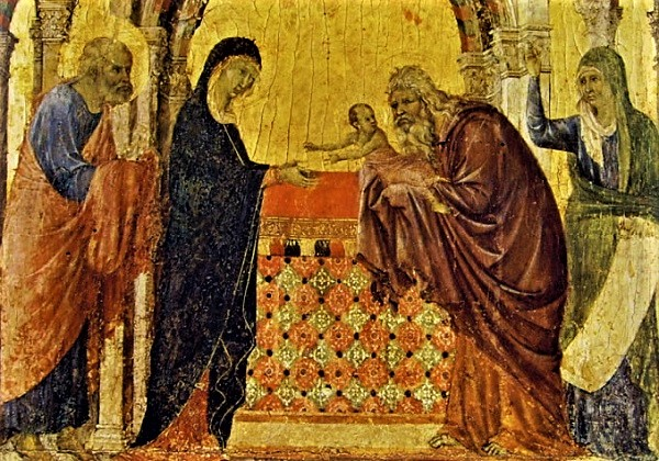 Prikazanje Gospodinovo u Hramu: Mač boli