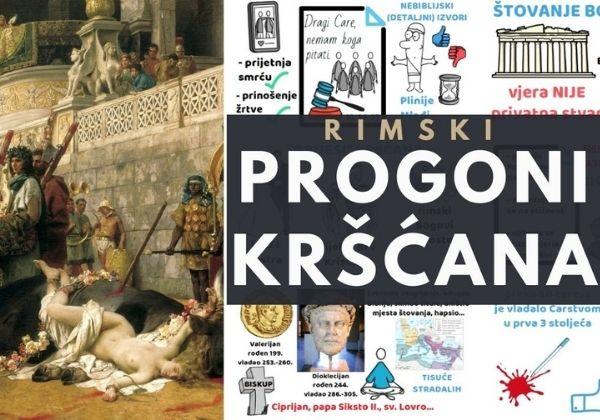 Rimski progoni kršćana (progoni Crkve u prva tri stoljeća)