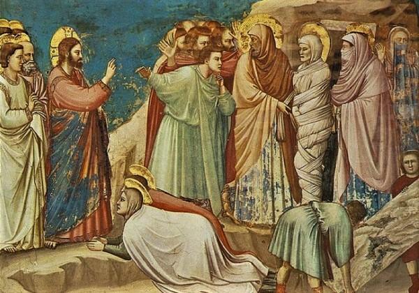 5. korizmena nedjelja (A): Zaplaka Isus